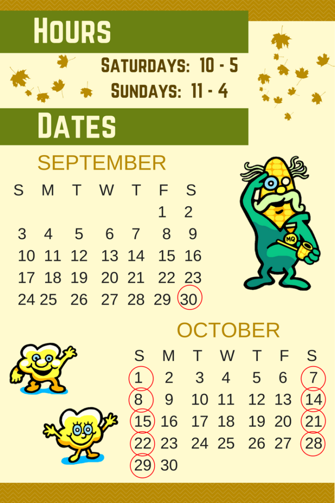 Twolick, Fall Fest, Corn Maze, Hours, September, October